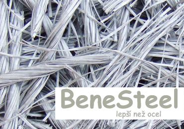 <strong>Polymerová makrovlákna</strong> BeneSteel